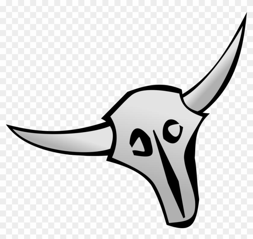 Minimalist Cattle Skull - Cattle #314800