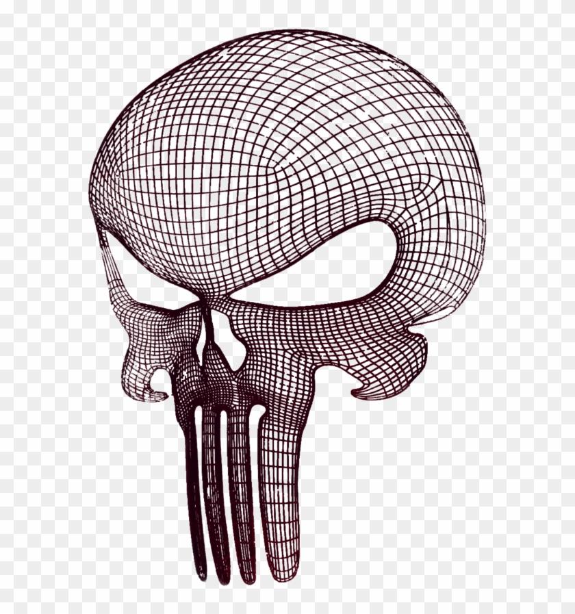 Punisher Skull Vectors Black Png Logo - Drawings Of Punisher Skull #315037