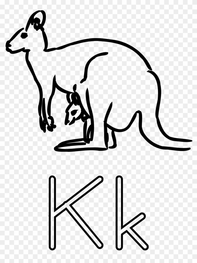 Animal Letter Cliparts 13 Buy Clip Art Letter Big K And Small K