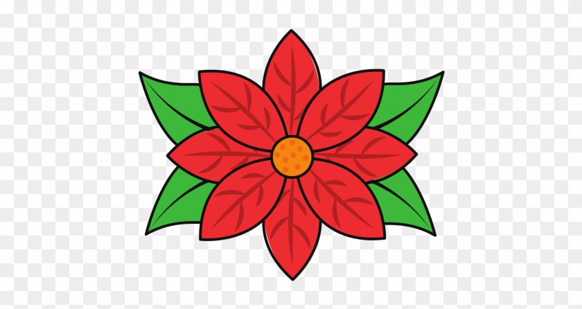 poinsettia flower for christmas decoration natural christmas decoration