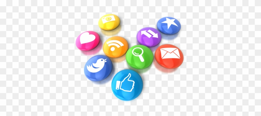 We Encourage You To Bookmark The Oracle Webcenter Blog - Social Media Animated Icons #316091