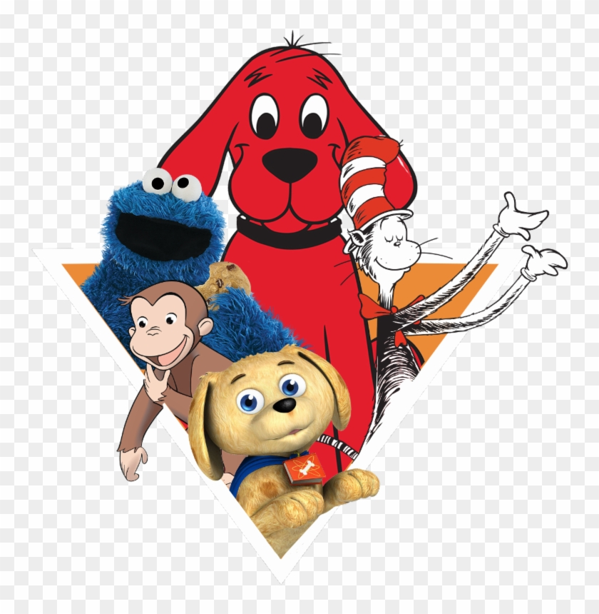 Set, Fun Bookfest For A Pizza Palooza With Your Favorite - Clifford The Big Red Dog #316333