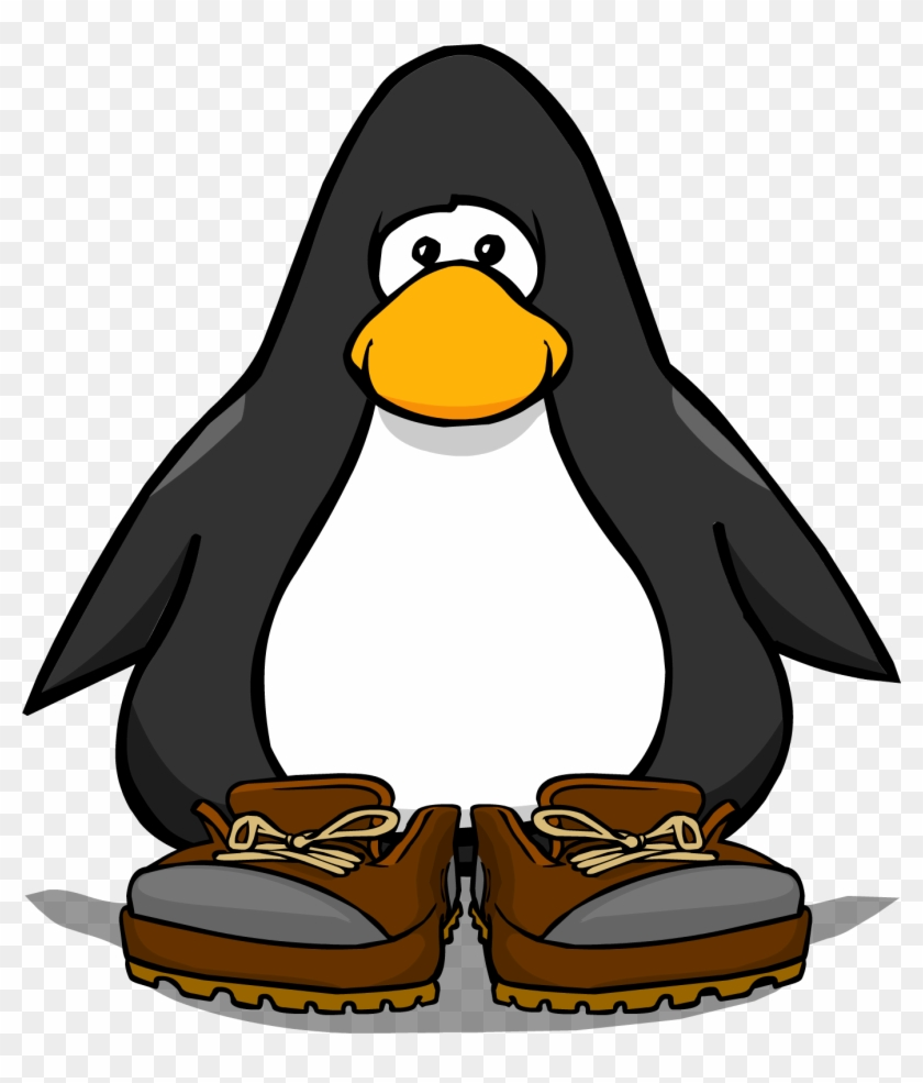 Hiking Boots From A Player Card Club Penguin Boa Free