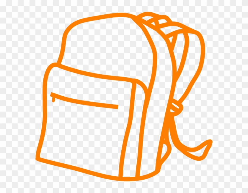 Backpack Silhouette Png #316436