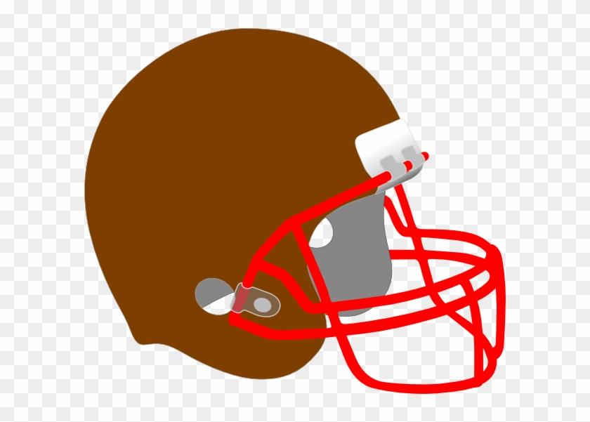 Helmet And Football Drawing #316603