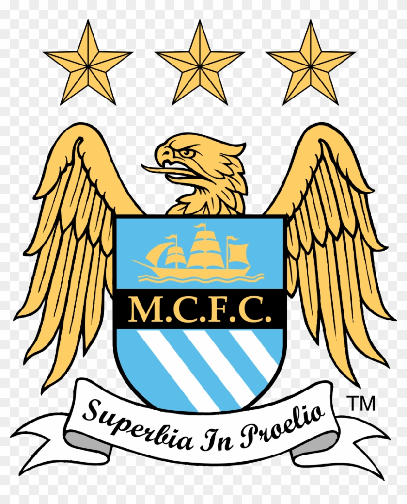 Click Image For Larger Version Name - Dream League Soccer Logo Manchester City #316915