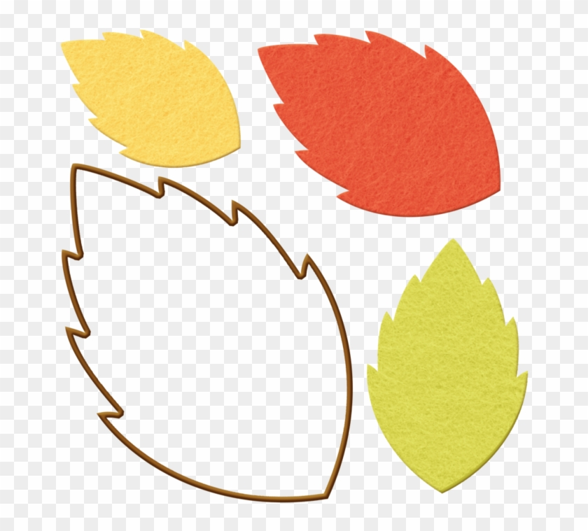 Marisa Lerin Fall Leaves 2 Asset Green Red - Fall Leaves Cut Out #317070