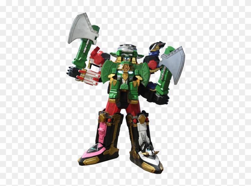 Rumble Tusk Ninja Steel Megazord - Power Rangers Ninja Steel Megazord #317114