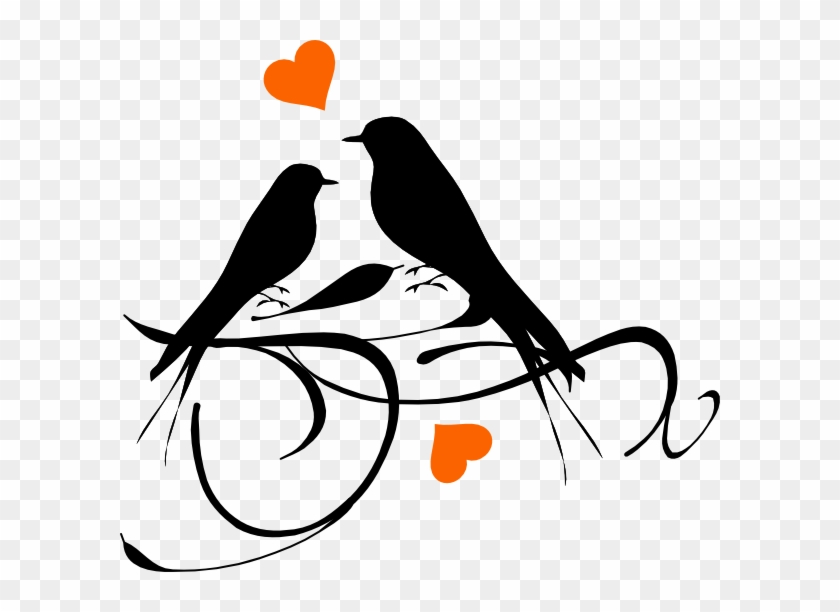 How To Set Use Birds On A Branch Hearts Svg Vector Love Bird Silhouette Png Free Transparent Png Clipart Images Download