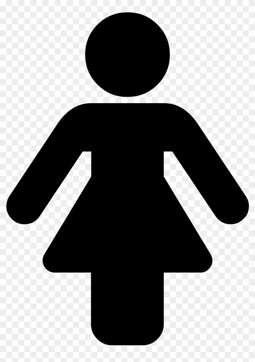 Gender Symbol Female Computer Icons Clip Art Female Silhouette