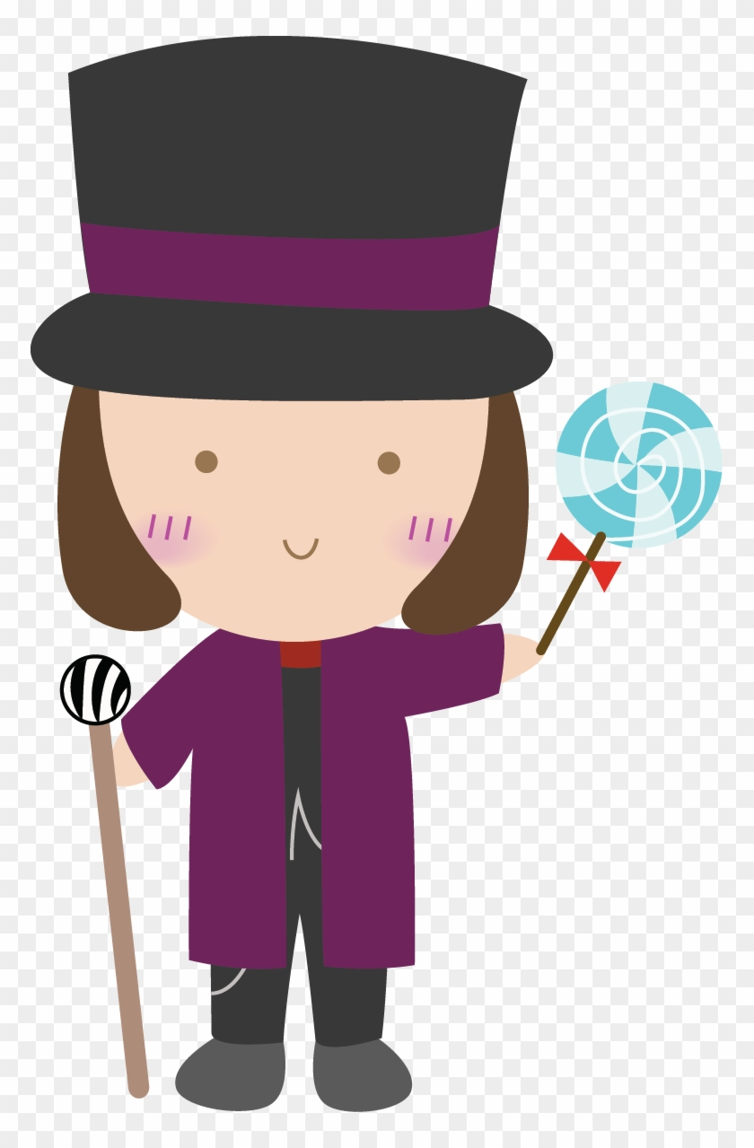 Willy Wonka And The Chocolate Factory Clip Art - Charlie And The ...
