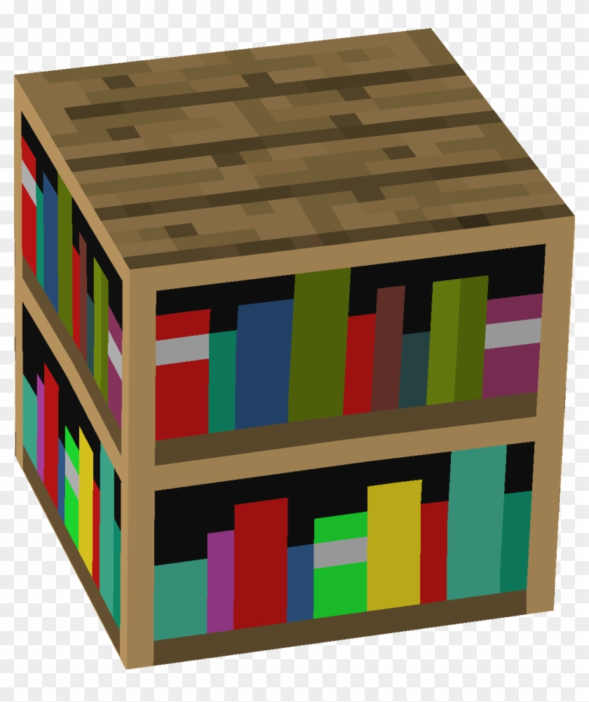 Classy Minecraft Bookcase For Diy