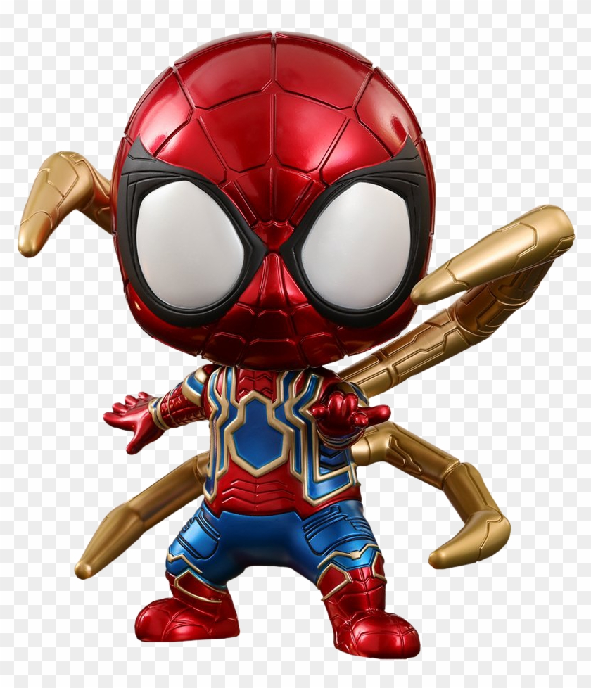 Download Image Hot Toys Iron Spider Cosbaby Free Transparent Png