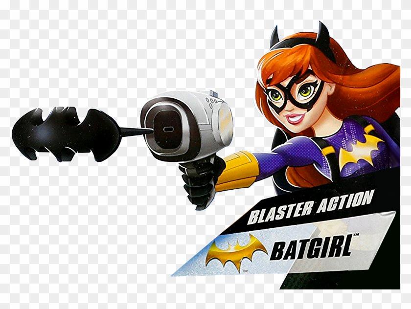 Batgirl Blaster Action Profile Art Dc Super Hero Girls - Dc Super Hero Girls Blaster Action Bat Girl Doll #318260