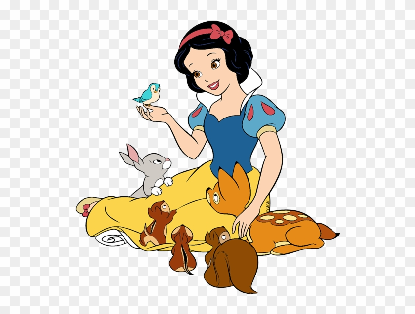 snow white forest animals snow white and the animals free