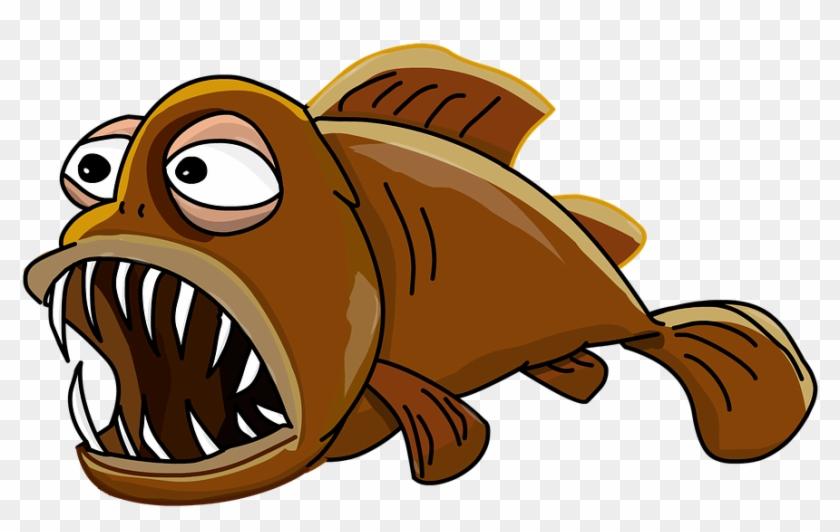 Girl Fishing Cliparts 24, Buy Clip Art - Goldfish Animated #318373