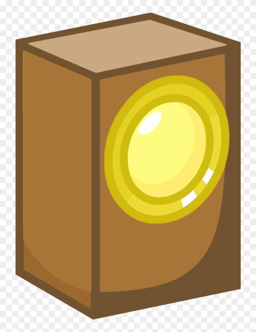 Paintbrush Speaker Box Asset 2 By Ball Of Sugar - Battle For Dream Island Speaker Box #318680