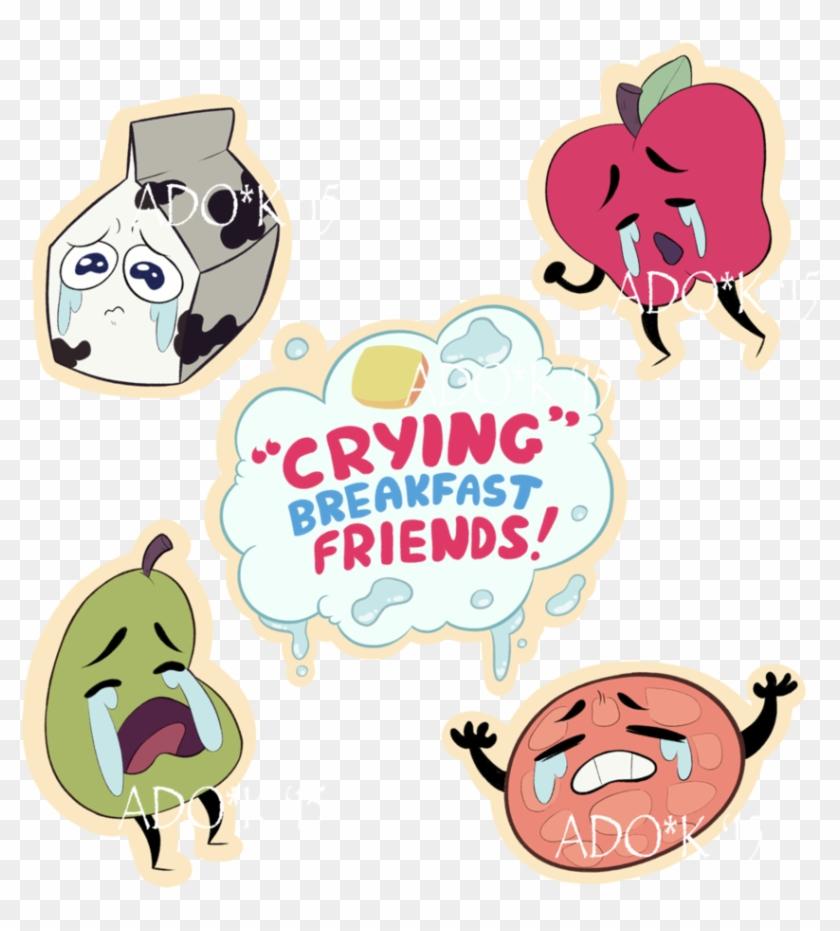 Crying Breakfast Friends - Steven Universe Crying Breakfast Friends Hd #318846