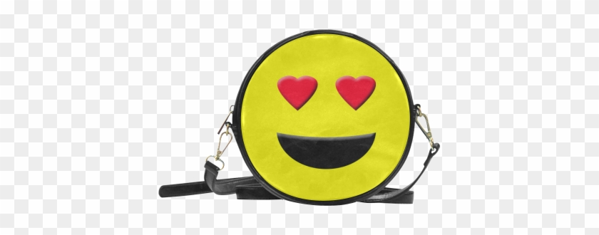 Emoticon Heart Smiley Round Sling Bag Model Id Png - Miraculous Ladybug Marinette Bag #318875