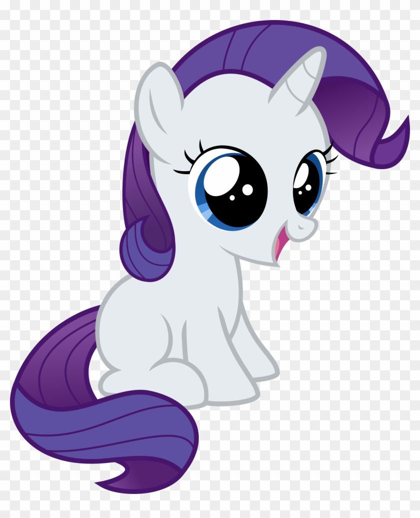 Filly Rarity Vector By Crimsonlynx97 Filly Rarity Vector My Little Pony Rarity Baby Free Transparent Png Clipart Images Download