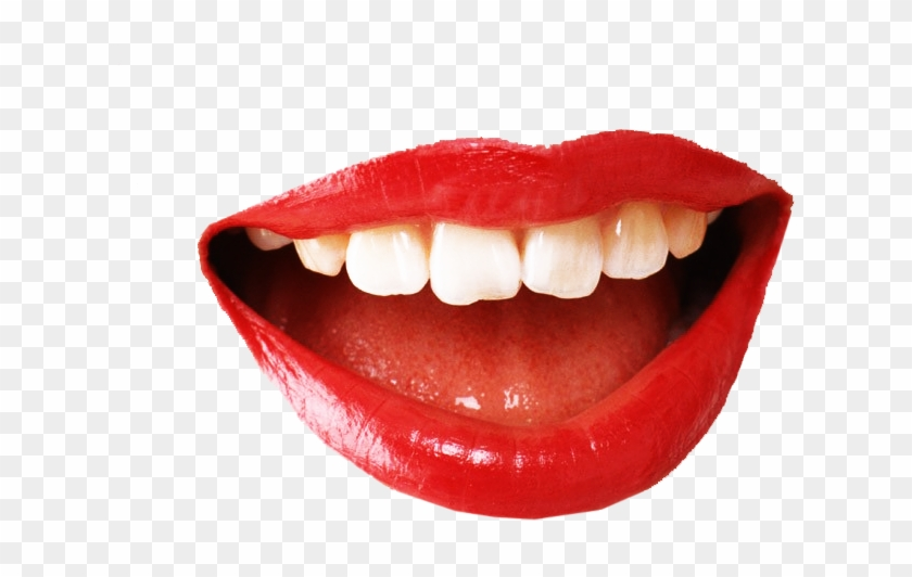 Lips Transparent Png Sticker - Smiling Mouth Png #319028