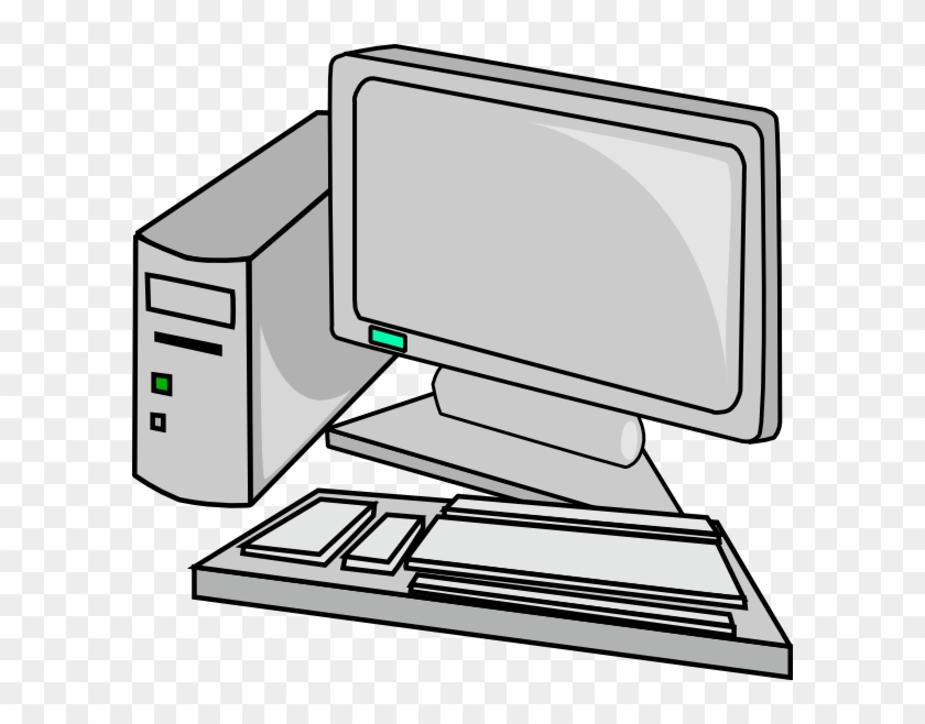 Clipart Of Pc, Desktop And Ibm - Personal Computer - Free