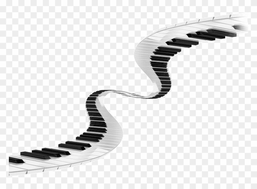 Piano Keyboard Clip Art - Keyboard Piano Clip Art #319328