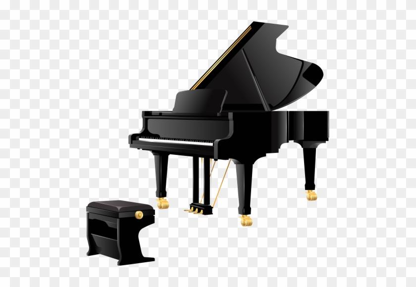 Clip Art - Piano Png #319427