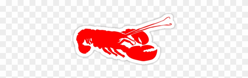 Lobster Outline Stickers By Redpine Redbubble