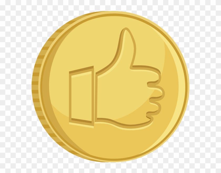 Us Nickel Coin Stock Illustration Cartoon Clipart Gold Coin
