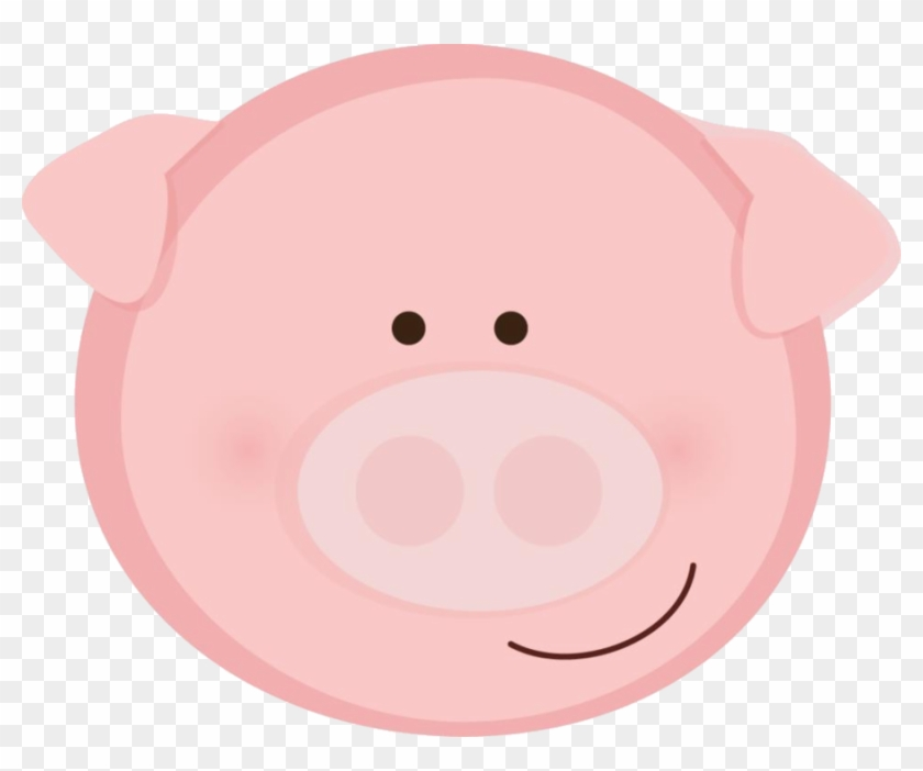 Animal Faces - Baby Pig Face Clipart #319934