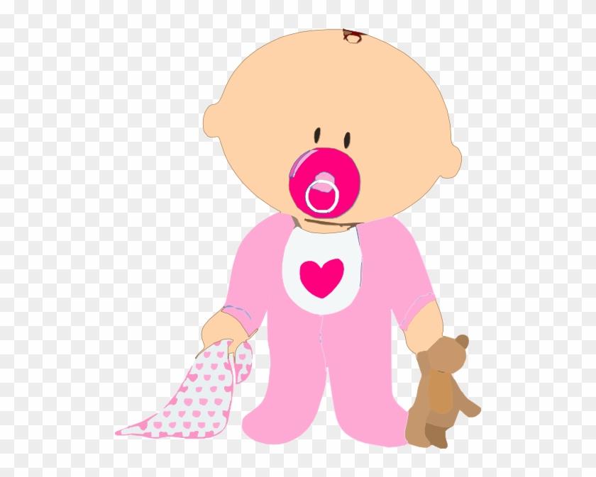 Creativas Imagenes De Bebes En Dibujos Animados Bonitos - Clipart Baby Girl #319993