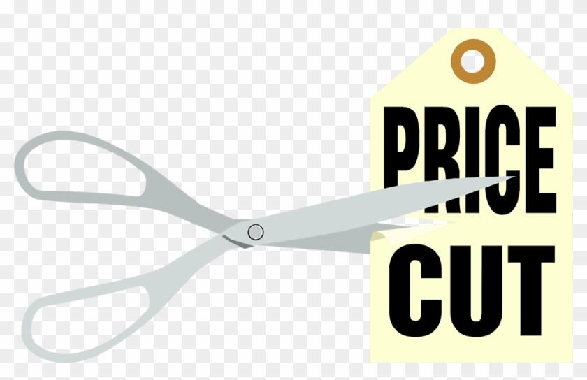 Price Cut Free - Cut Price Tag Png #320051