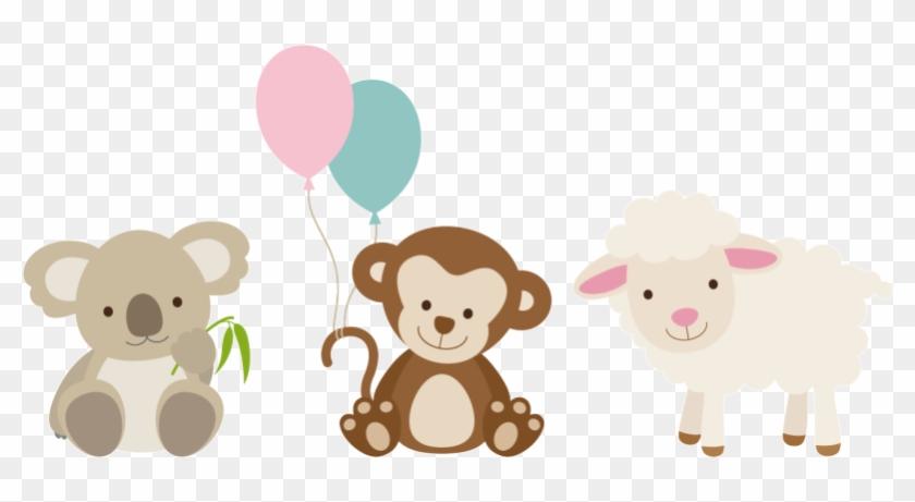 Baby Animals Stickers, Cute Animals Sticker, Cheap - Cute Baby Animals Cartoon #320098