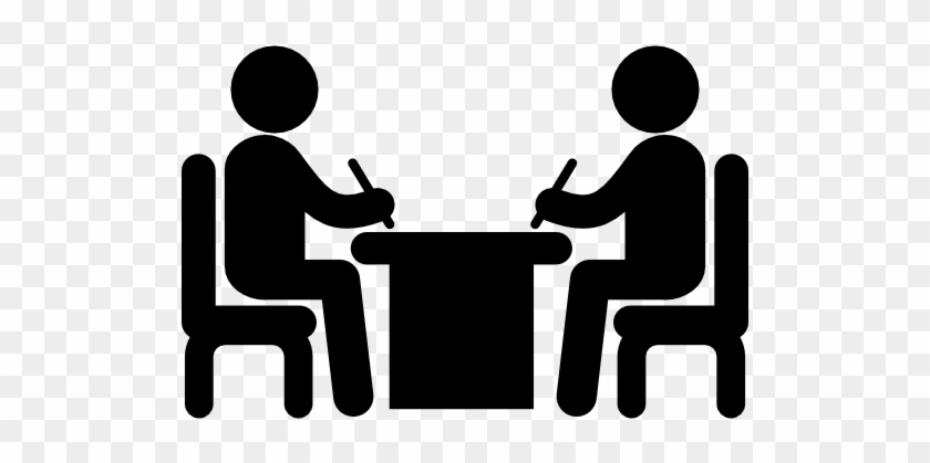 Computer Icons Person Clip Art - People Sitting At Table Icon #320155