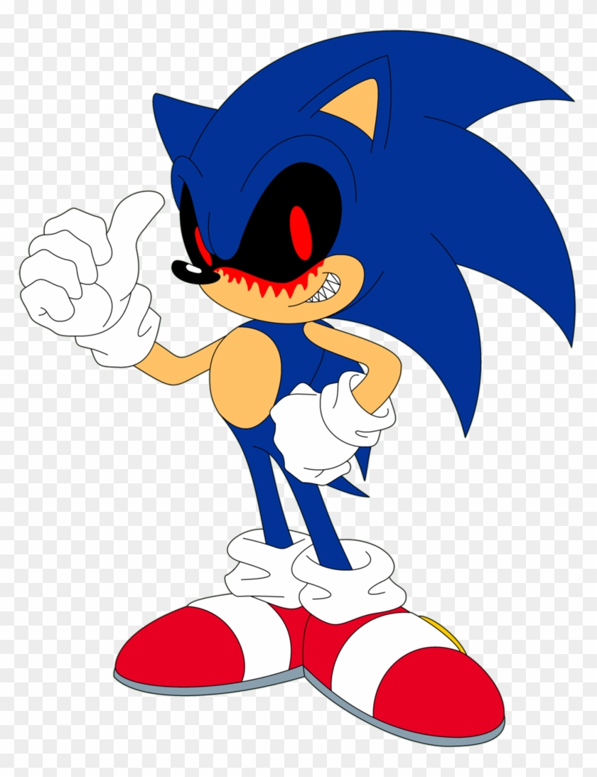 Exe By Ra1nb0wk1tty On Deviantart Sonic The Hedgehog Free Transparent Png Clipart Images Download