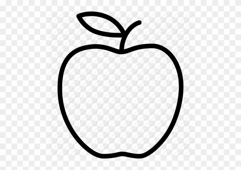 apple big education food fruit new york outline apple