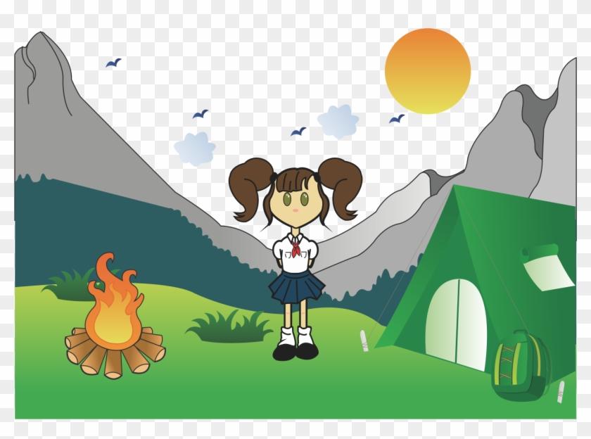 Girl Camping Clip Art 21 Camping Clipart Free | Clip art, Girl scout camping,  Camping clipart