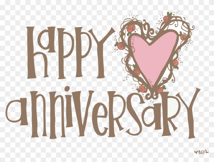 Happy Anniversary Download Wedding Clip Art Free - Happy Anniversary Mom And Dad #321150