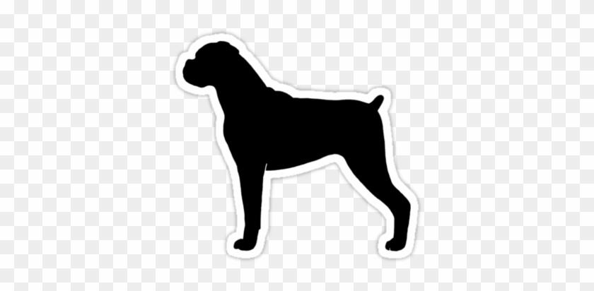 Boxer Dog Silhouette - Bloat In Doberman Pinschers #321262