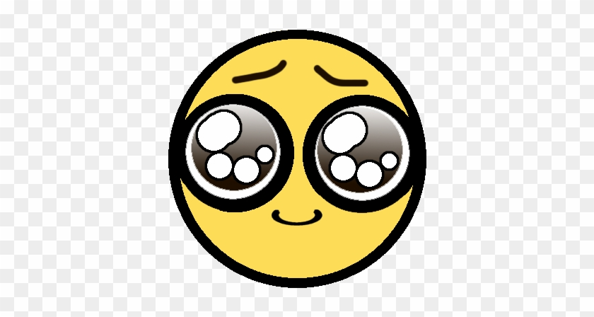 Puppy Dog Eyes Emoticon Clipart - Animated Big Puppy Dog Eyes #321970
