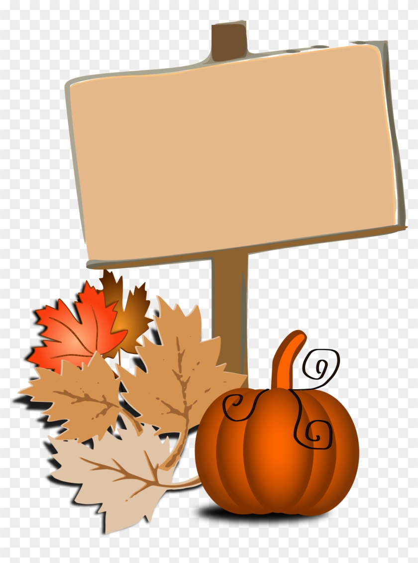 Halloween Sign Clip Art - Fall Borders Free Clip Art #322253