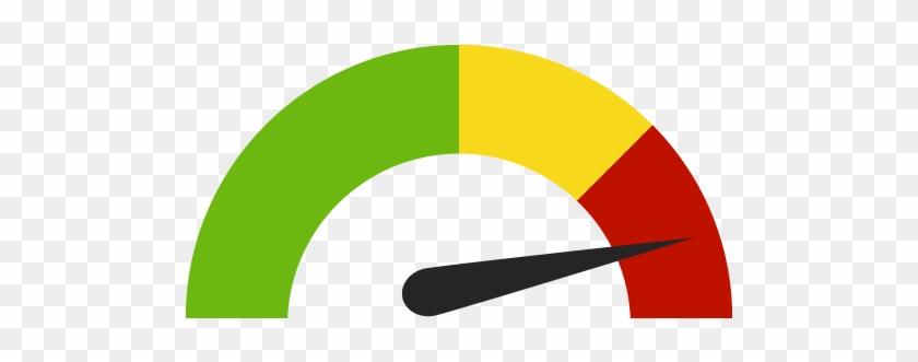guage icon credit score indicators gauges stock illustration high