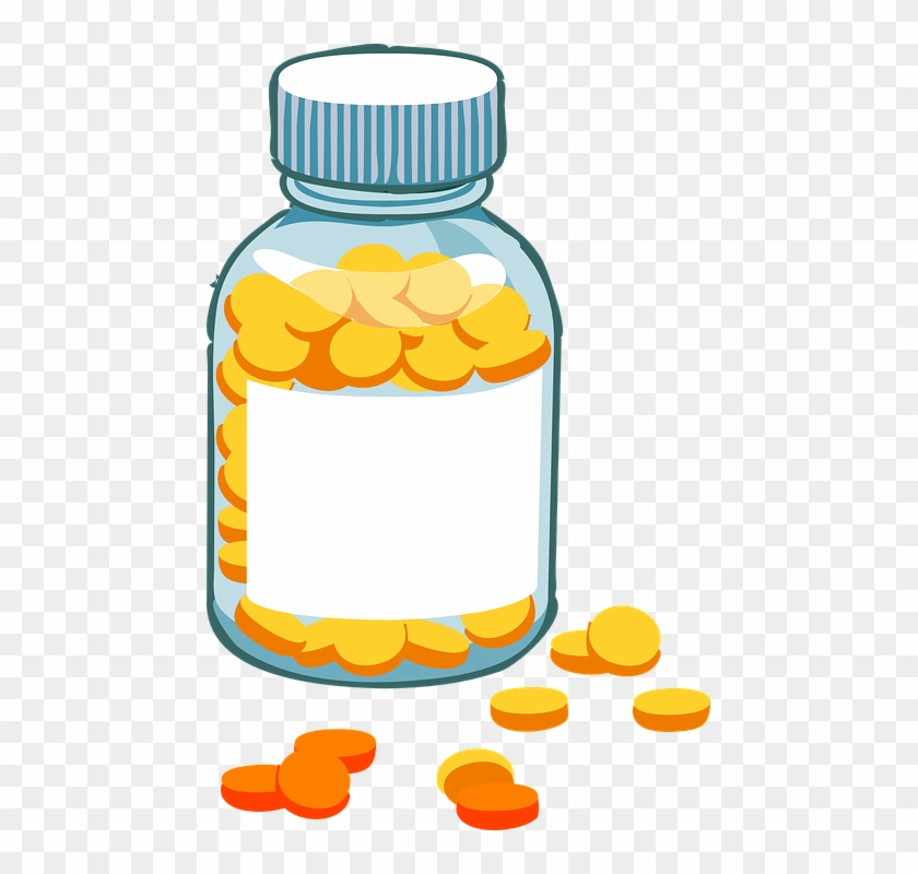 Candycorn Cliparts - Animated Pill Bottle #322468