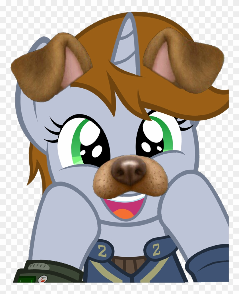 Adorable Face, Cute, Dog Ears, Fallout Equestria, Female, - My Little Pony: Friendship Is Magic #322808