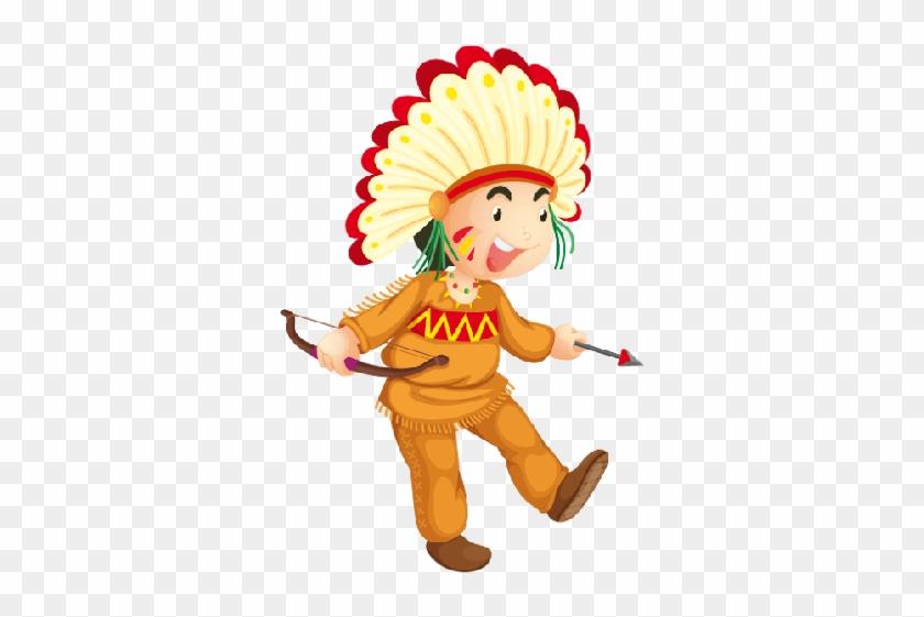 Cowboy And Indian Figures - Native American Indian Emoji #322962