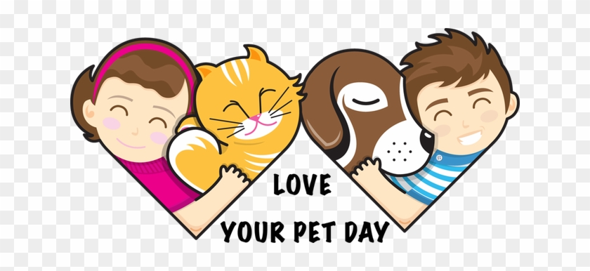 Pets Clipart Animal Lover Love Your Pet Day 2016 Free Transparent Png Clipart Images Download