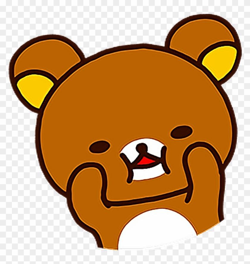 Rilakkuma Oso Osito Bear Freetoedit - Stickers De Ositos De