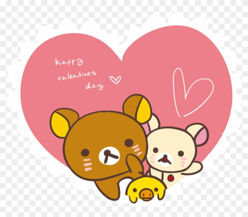Rilakkuma Valentine By Toukoni Rilakkuma Valentine Happy