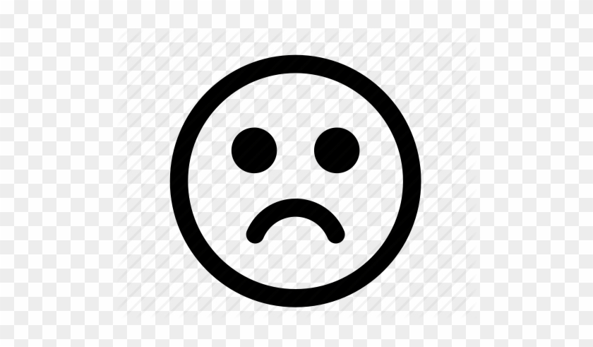 Emoticon, Emotion, Face, Happy, Sad, Shocked, Smiley - Happy And Sad Face Transparent #324099